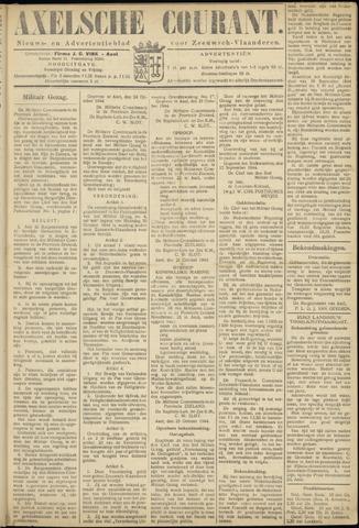 Axelsche Courant 1944-10-27