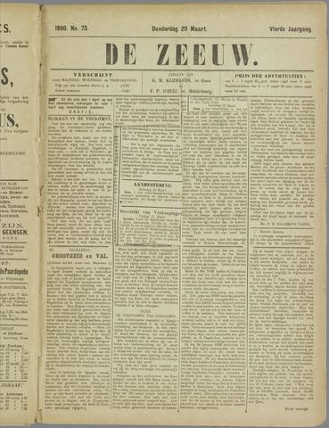 De Zeeuw. Christelijk-historisch nieuwsblad voor Zeeland 1890-03-20