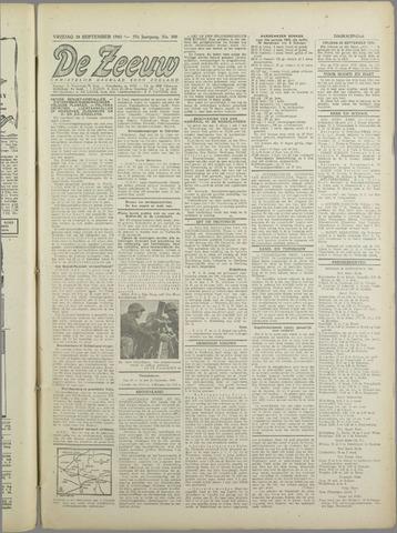 De Zeeuw. Christelijk-historisch nieuwsblad voor Zeeland 1943-09-24