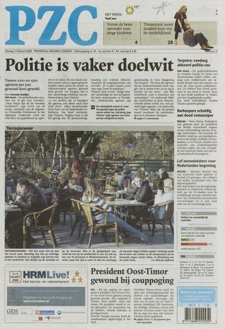 Provinciale Zeeuwse Courant 2008-02-12