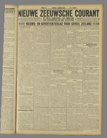 Nieuwe Zeeuwsche Courant 1926-10-19