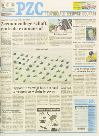 Provinciale Zeeuwse Courant 2003-06-12