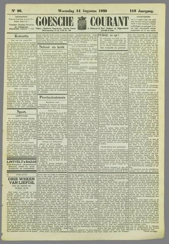 Goessche Courant 1929-08-14