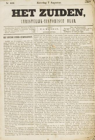 Het Zuiden, Christelijk-historisch blad 1880-08-07