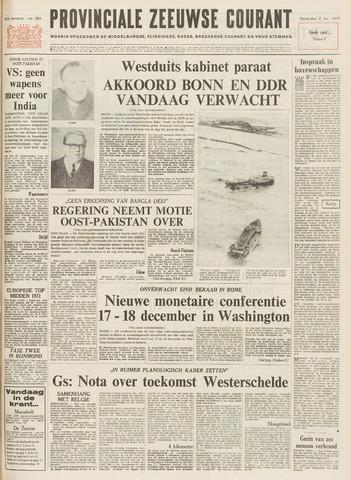 Provinciale Zeeuwse Courant 1971-12-02