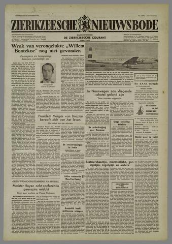 Zierikzeesche Nieuwsbode 1954-08-26