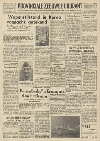 Provinciale Zeeuwse Courant 1953-07-27