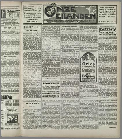 Onze Eilanden 1927
