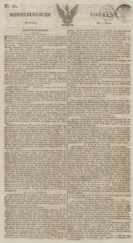 Middelburgsche Courant 1827-03-01