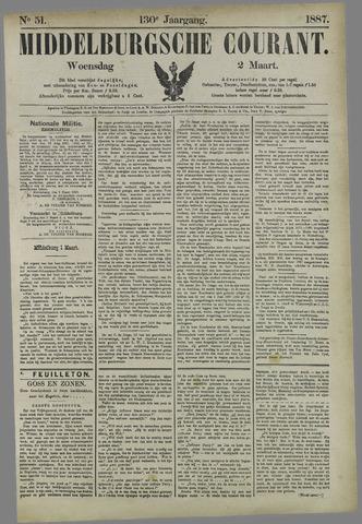 Middelburgsche Courant 1887-03-02