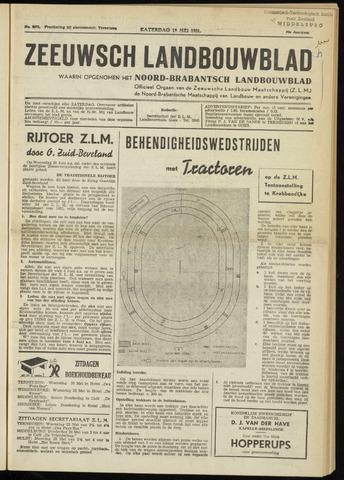 Zeeuwsch landbouwblad ... ZLM land- en tuinbouwblad 1951-05-19