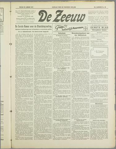 De Zeeuw. Christelijk-historisch nieuwsblad voor Zeeland 1937-01-22