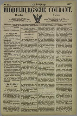 Middelburgsche Courant 1887-07-05
