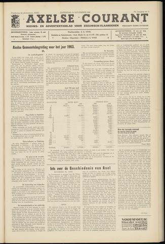 Axelsche Courant 1962-11-24