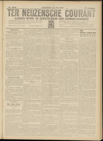 Ter Neuzensche Courant. Algemeen Nieuws- en Advertentieblad voor Zeeuwsch-Vlaanderen / Neuzensche Courant ... (idem) / (Algemeen) nieuws en advertentieblad voor Zeeuwsch-Vlaanderen 1937-07-28