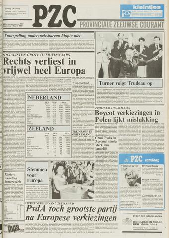 Provinciale Zeeuwse Courant 1984-06-18