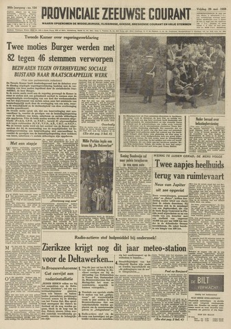 Provinciale Zeeuwse Courant 1959-05-29