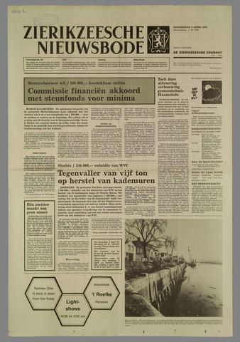 Zierikzeesche Nieuwsbode 1985-04-04