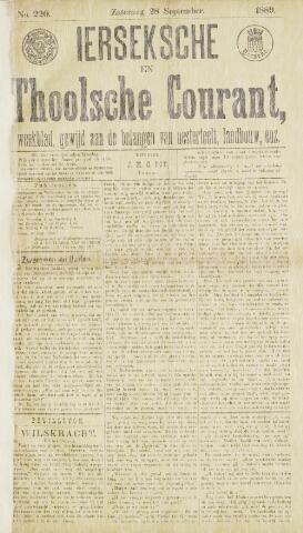 Ierseksche en Thoolsche Courant 1889-09-28