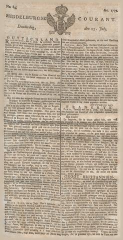 Middelburgsche Courant 1779-07-15