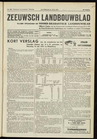 Zeeuwsch landbouwblad ... ZLM land- en tuinbouwblad 1951-07-21