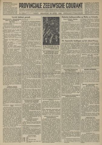 Provinciale Zeeuwse Courant 1942-04-20