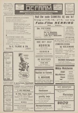 de Faam en de Faam/de Vlissinger 1963-06-07