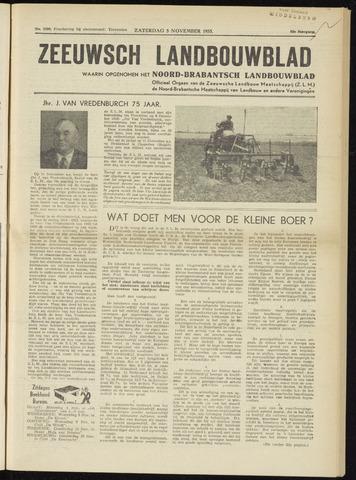Zeeuwsch landbouwblad ... ZLM land- en tuinbouwblad 1955-11-05