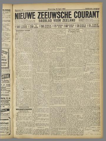 Nieuwe Zeeuwsche Courant 1922-04-26