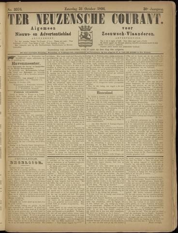 Ter Neuzensche Courant. Algemeen Nieuws- en Advertentieblad voor Zeeuwsch-Vlaanderen / Neuzensche Courant ... (idem) / (Algemeen) nieuws en advertentieblad voor Zeeuwsch-Vlaanderen 1896-10-31