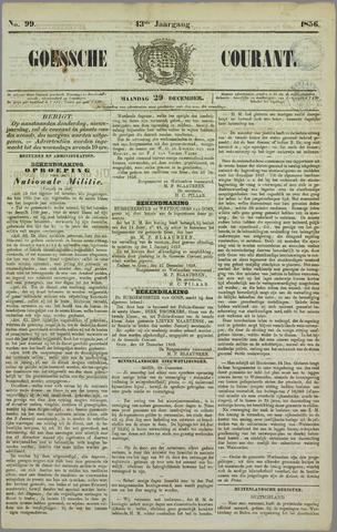 Goessche Courant 1856-12-29