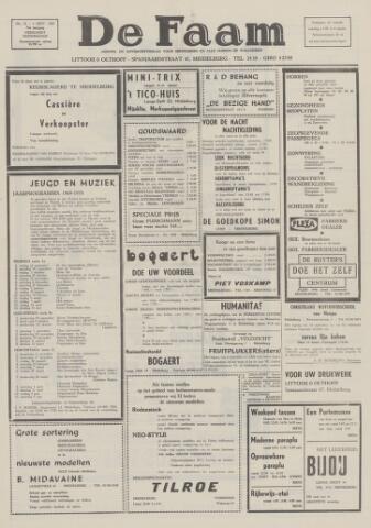 de Faam en de Faam/de Vlissinger 1969-09-04