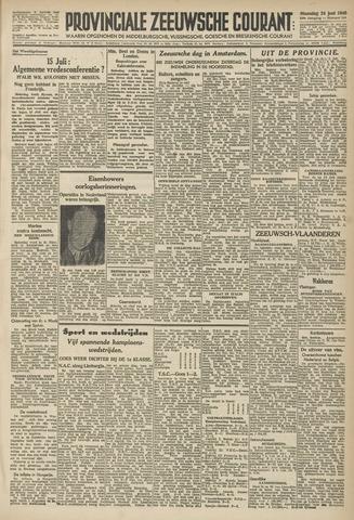 Provinciale Zeeuwse Courant 1946-06-24