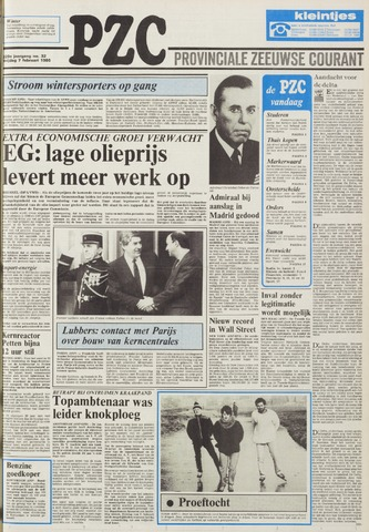 Provinciale Zeeuwse Courant 1986-02-07