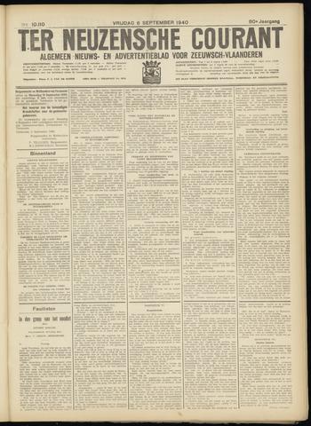Ter Neuzensche Courant. Algemeen Nieuws- en Advertentieblad voor Zeeuwsch-Vlaanderen / Neuzensche Courant ... (idem) / (Algemeen) nieuws en advertentieblad voor Zeeuwsch-Vlaanderen 1940-09-06