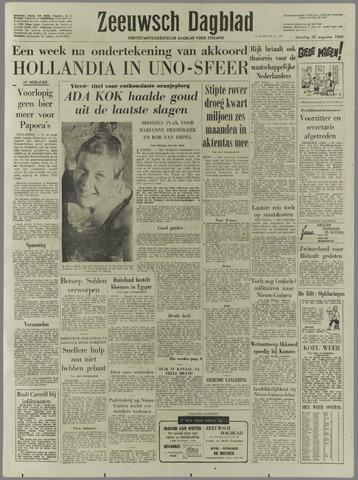Zeeuwsch Dagblad 1962-08-25