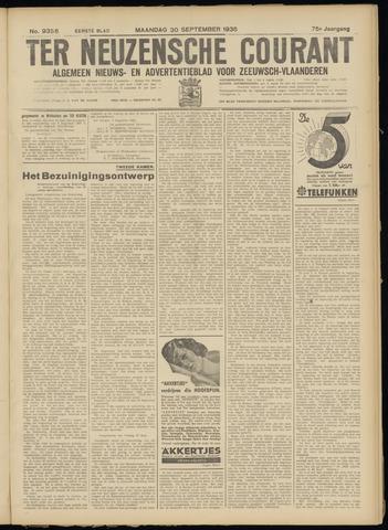 Ter Neuzensche Courant. Algemeen Nieuws- en Advertentieblad voor Zeeuwsch-Vlaanderen / Neuzensche Courant ... (idem) / (Algemeen) nieuws en advertentieblad voor Zeeuwsch-Vlaanderen 1935-09-30