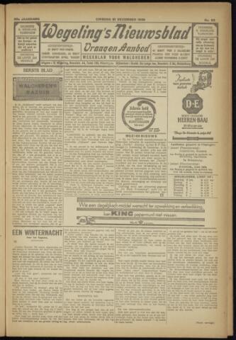 Zeeuwsch Nieuwsblad/Wegeling's Nieuwsblad 1929-12-31