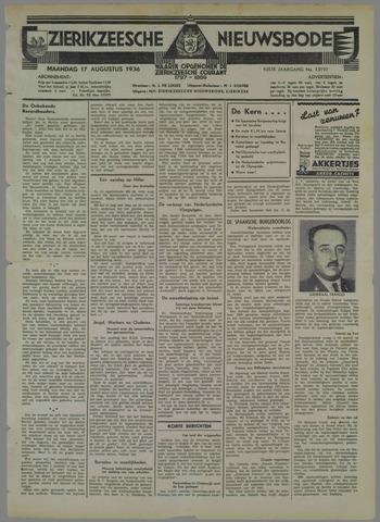 Zierikzeesche Nieuwsbode 1936-08-17