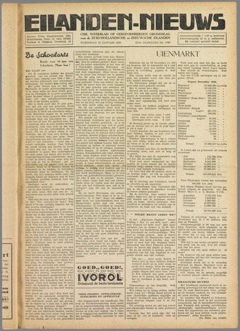 Eilanden-nieuws. Christelijk streekblad op gereformeerde grondslag 1949-01-12