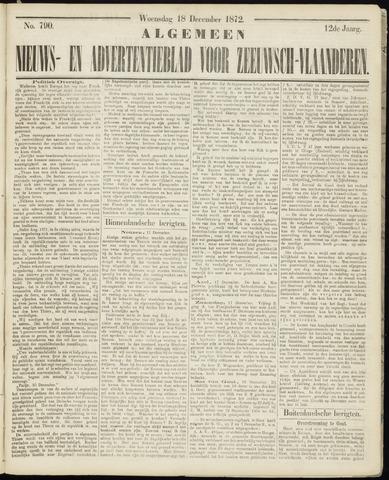 Ter Neuzensche Courant. Algemeen Nieuws- en Advertentieblad voor Zeeuwsch-Vlaanderen / Neuzensche Courant ... (idem) / (Algemeen) nieuws en advertentieblad voor Zeeuwsch-Vlaanderen 1872-12-18