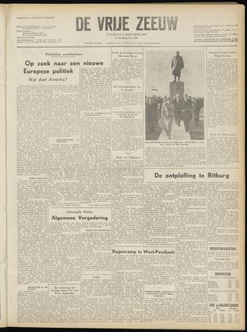 de Vrije Zeeuw 1954-09-25