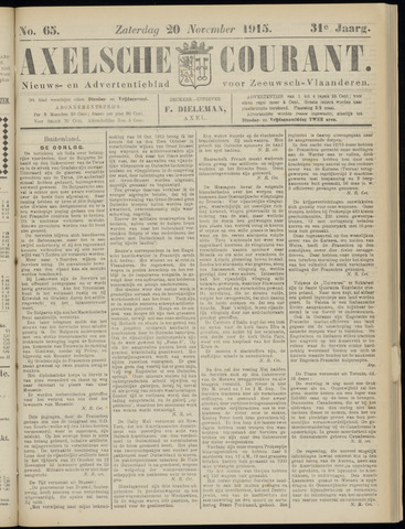Axelsche Courant 1915-11-20