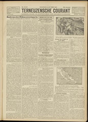 Ter Neuzensche Courant. Algemeen Nieuws- en Advertentieblad voor Zeeuwsch-Vlaanderen / Neuzensche Courant ... (idem) / (Algemeen) nieuws en advertentieblad voor Zeeuwsch-Vlaanderen 1942-10-14