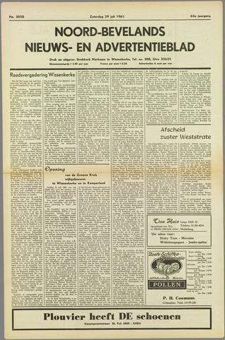 Noord-Bevelands Nieuws- en advertentieblad 1961-07-29