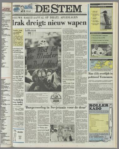 de Stem 1991-01-28