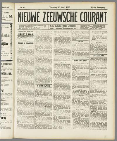 Nieuwe Zeeuwsche Courant 1909-06-12