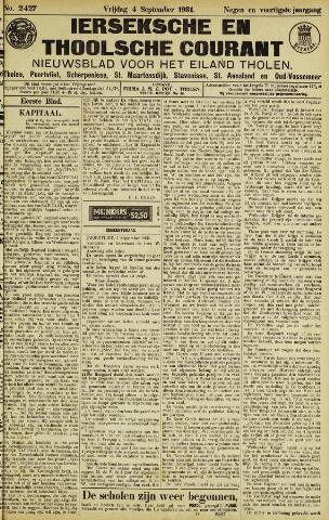 Ierseksche en Thoolsche Courant 1931-09-04