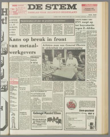 de Stem 1977-01-14