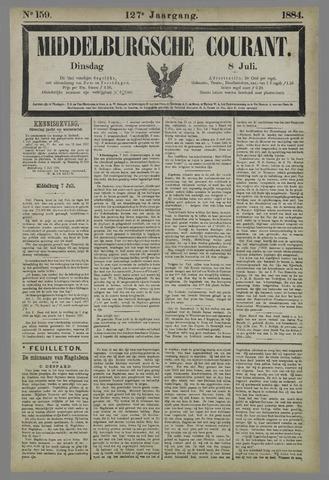 Middelburgsche Courant 1884-07-08